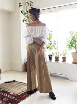 Offshoulder Voluminous Blouse
