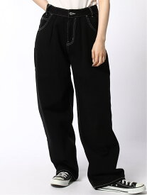 WIDE TAPERED PANTS エックスガール パンツ/ジーンズ【送料無料】