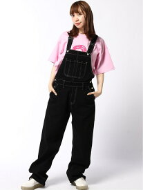 WIDE TAPERED OVERALL エックスガール パンツ/ジーンズ【送料無料】