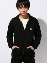 BxH Leopard Hood Zip-up Pk