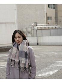 JILL by JILLSTUART チェックストール ジル バイ ジルスチュアート ファッショングッズ スカーフ/バンダナ グレー ホワイト【送料無料】