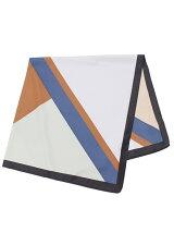 幾何柄スカーフ
