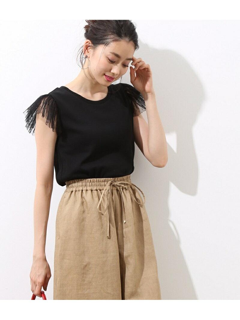 【SALE/30%OFF】ROPE' mademoiselle ソデチュールTシャツ ロペ カットソー【RBA_S】【RBA_E】【送料無料】
