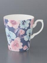 大花柄軽量マグカップ