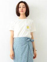 SCREEN STARS × BEAMS BOY / スマイル ポケット Tシャツ