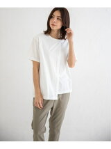 soft jersey layered T-shirt