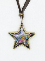 Flower Twinkle Coad Necklace