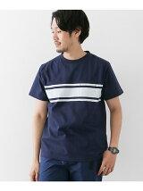 Line Print Tシャツ