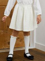 ラメツイードフレアスカート