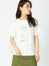 S-Vingt-sept/(W)SECOND Girl Tシャツ