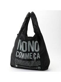 MONO COMME CA 〈カラバリ豊富!〉 エコバッグ コンパクト コムサイズム バッグ エコバッグ/サブバッグ ブラック ベージュ ブルー ネイビー カーキ ピンク
