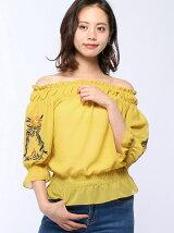 袖刺繍オフショルBL