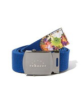Flower Point Buckle Belt