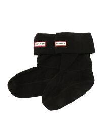 HUNTER (W)SHORT BOOT SOCK ハンター ファッショングッズ ソックス/靴下 ブラック ホワイト