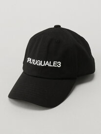 ADPOSION 【別注】ADPOSION×1PIU1UGUALE3 RELAX 6パネル刺繍ロゴCAP テットオム 帽子/ヘア小物【送料無料】