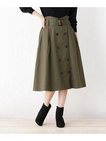 【SALE/9%OFF】トレンチスカート グローブ スカート【RBA_S】【RBA_E】【送料無料】