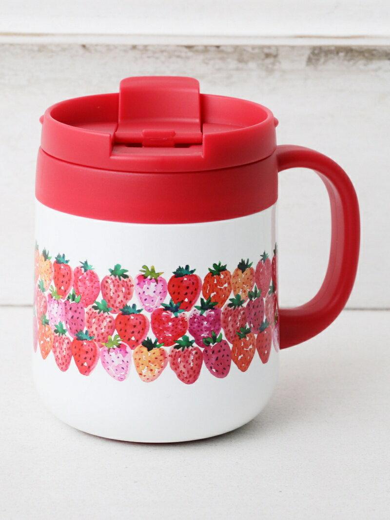 Afternoon Tea イチゴステンレスマグカップ アフタヌーンティー・リビング 生活雑貨