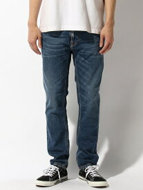【SALE/30%OFF】nudie jeans nudie jeans/(M)Thin Finn ヌーディージーンズ / フランクリンアンドマーシャル パンツ/ジーンズ サロペット/オールインワン ブルー【送料無料】