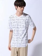 (M)ZIP FIVE 裏プリント半袖Tシャツ