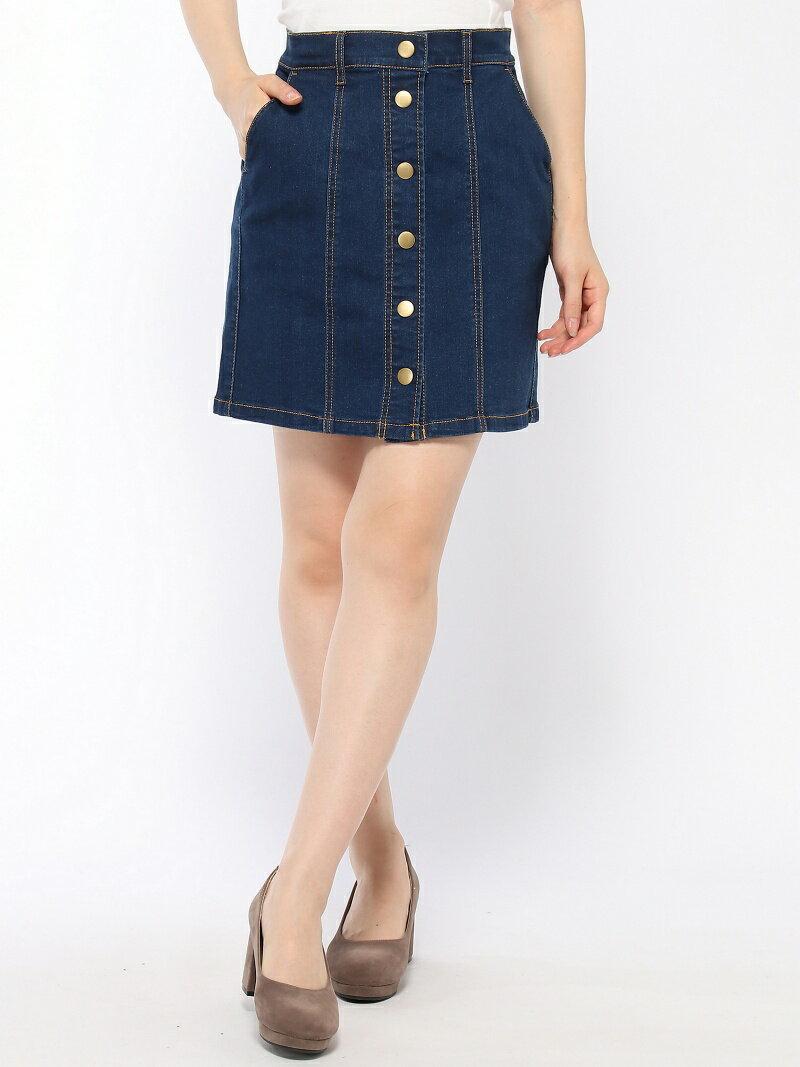 BROWNY STANDARD BROWNY STANDARD/(L)前ボタンパネルタイトミニスカート ウィゴー スカート