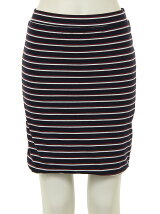 Sunset Stripe Mini Skirt