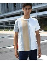 【汗染み防止・防菌防臭】リバースパネルTシャツ