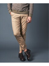 T/C CHINO TAPERED ANCLE NO-P PANTS 20SS