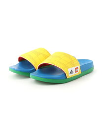 adidas Sports Performance ADIDAS X LEGO アディレッタ コンフォート サンダル [Adilette Comfort Slides] アディダス (キッズ/子供用) アディダス シューズ キッズシューズ イエロー