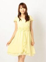 お花モチーフふんわりドレス