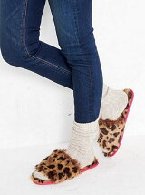 LEOPARD ROOM SHOES