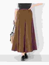 スウェードタッチマーメイドスカート