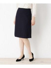 【SALE/60%OFF】OPAQUE.CLIP 【洗える・34(SS)、42(LL)WEB限定サイズ】ラメ入りツイードスカート オペークドットクリップ スカート スカートその他 ネイビー ブラック グレー