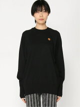(W)K-Tiger Crest Oversized Jumper