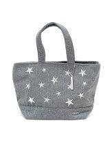 MIAN/星刺繍ミニトートバッグ