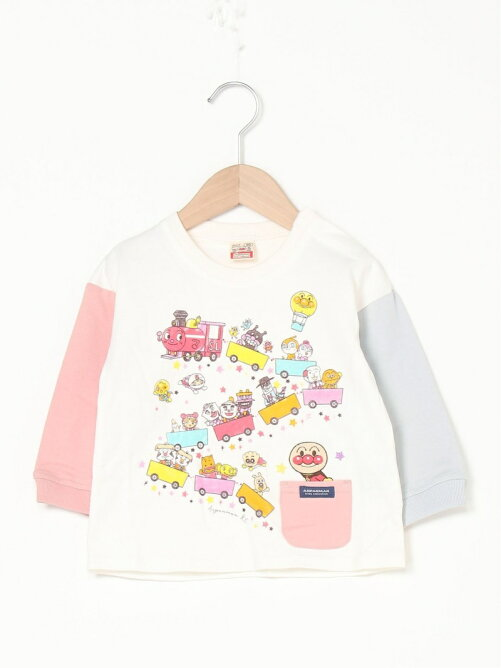 ANPANMAN KIDS COLLECTION/(K)SLマン長袖Tシャツ