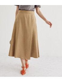 【SALE/10%OFF】ROPE' フェイクスエードマーメイドスカート ロペ スカート スカートその他 ブラウン グリーン オレンジ【送料無料】