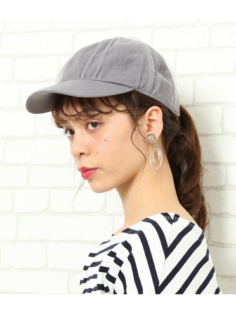 ROPE' PICNIC PASSAGE チュールロングストラップCAP ロペピクニック 帽子/ヘア小物【送料無料】