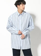 VITAL FACTOR/Big stripe shirt