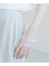 <<予約>>【ANNIKA INEZ】 GLASSY BANGLE◆