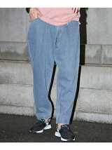 LIGHT DENIM BAGGY PANTS