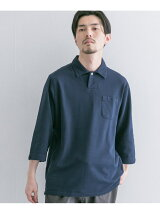 URBAN RESEARCH TAILOR コットンピケジャージー3/4S SHIRTS