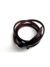 *Tokyo Tominzoku Leather Cord DBR