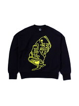 FULL-BK/(M)GARBAGE CREW NECK