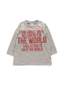 【SALE/30%OFF】BREEZE ブラスト加工Tシャツ エフオーオンラインストア カットソー Tシャツ グレー ネイビー