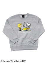 PEANUTS × BEAMS T / 別注 Crew Sweat 17AW