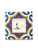 PHOTO FRAME VINTAGE TILE-CANDOLIM【写真立て】