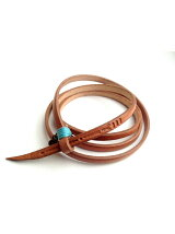 *Tokyo Tominzoku Leather Cord BE