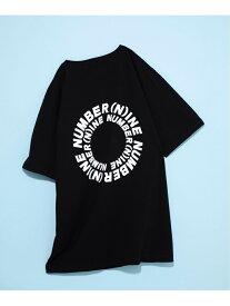【SALE/10%OFF】964 NUMBER (N)INE DENIM サークルロゴTS/NDT-20002 トウキョウデパートメントストア カットソー Tシャツ ブラック グレー レッド ホワイト
