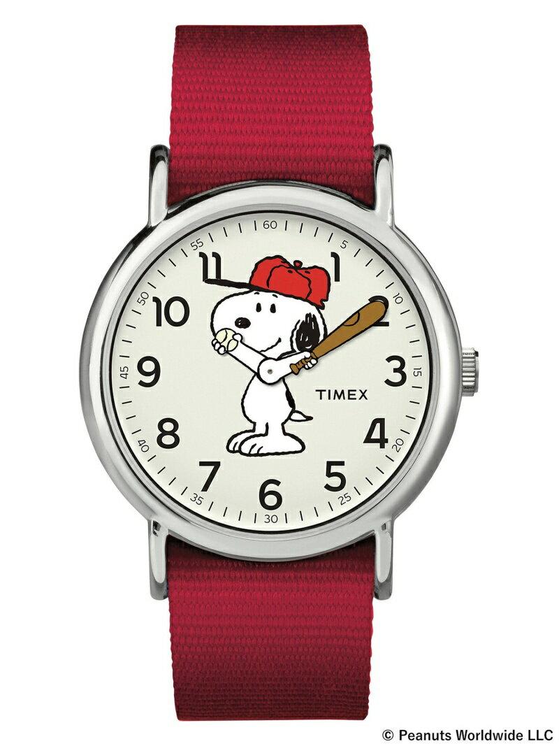 BEAMS MEN TIMEX × PEANUTS / WEEKENDER EXCLUSIVE タイメックス ピーナッツ スヌーピー BEAMS ビームス 時計 腕時計 ウォッチ キャラクター プレゼント ギフト ビームス 【送料無料】
