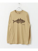 LIGHTNING BOLT×DOORS 別注PRINT LONG-SLEEVE TEE(Fish)
